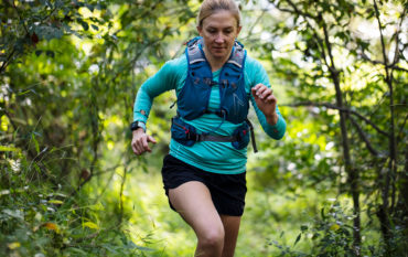 Person trail running