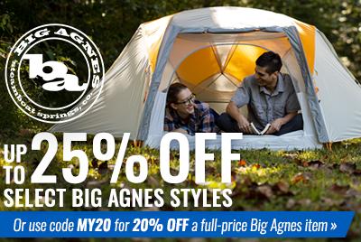 Big Agnes Sale