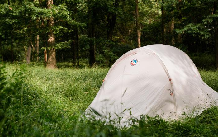 Big Agnes Tent in Grass