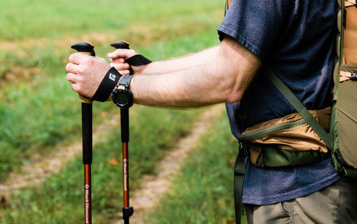 Black Diamond Trail Cork trekking poles